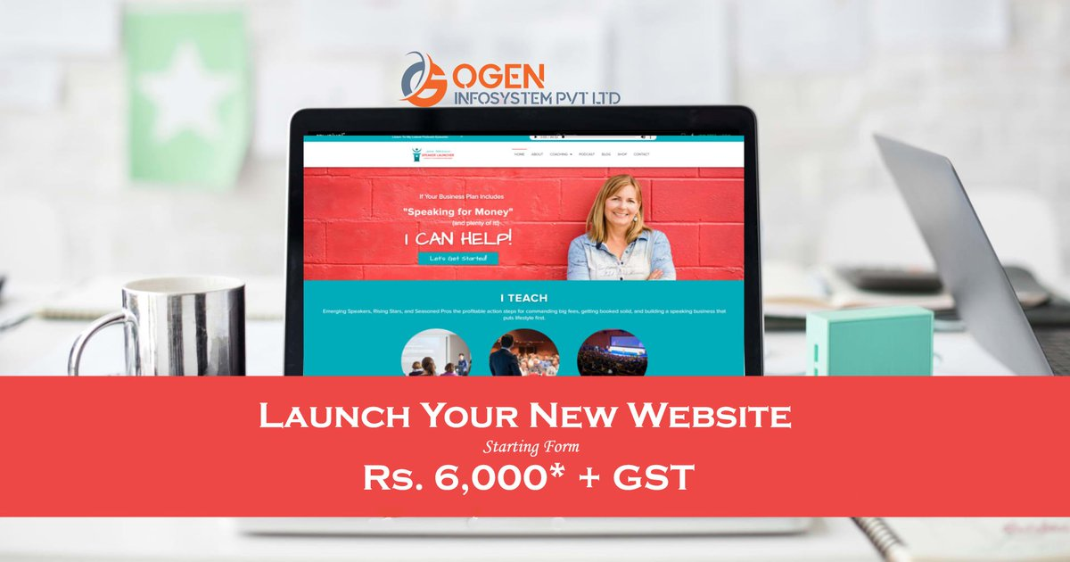 Bored from your old boring website or need to launch your business online? Get a mobile responsive website on PHP staring @ 6,000/- +GST only. Know more: https://www.ogeninfo.com/website-designing/…  #WebsiteDesigning #WebDesign #Website #OnlineBusiness #WebsiteBanegaTabhiToBusinessBadhega