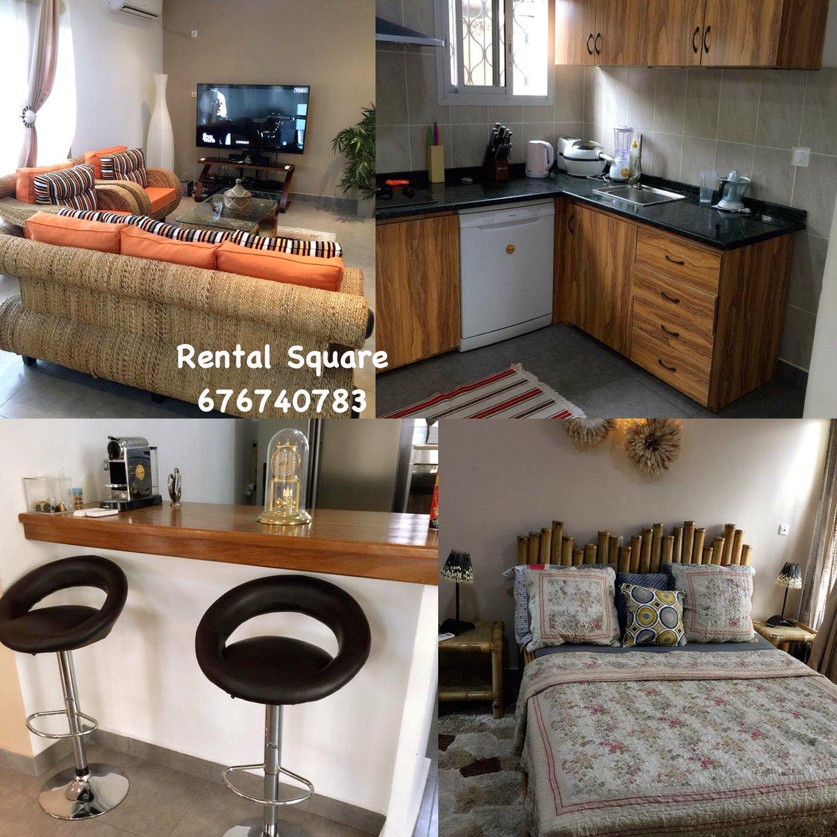 A louer ❗ 👉🏾 duplex meublé 3 chambres bonapriso 💰 à
