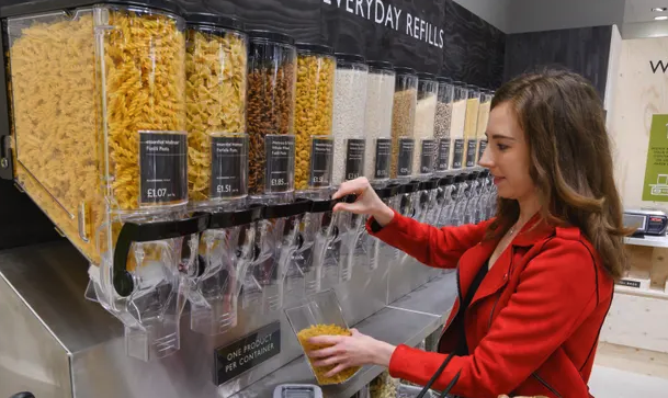 Waitrose has unveiled its vision of environmentally conscious shopping, offering customers the chance to buy items that are completely free of packaging.  This is an interesting one, what do you think to Waitrose's latest move to becoming eco-friendly? 🛒  https://www.theguardian.com/business/2019/jun/04/waitrose-launches-packaging-free-trial…