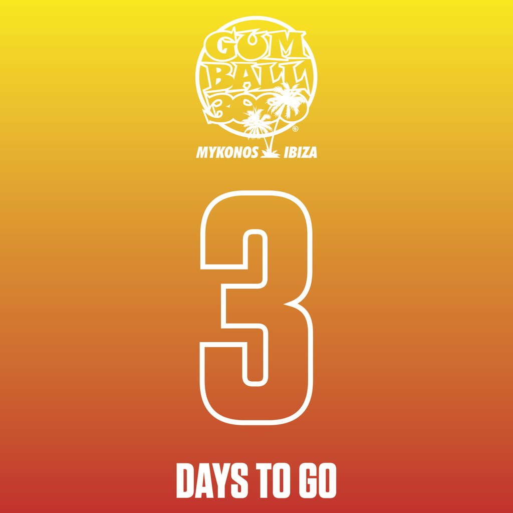 3 DAYS TO GO!!!! #MykonosvIbiza ⠀ #Gumball3000⠀ #GumballLife