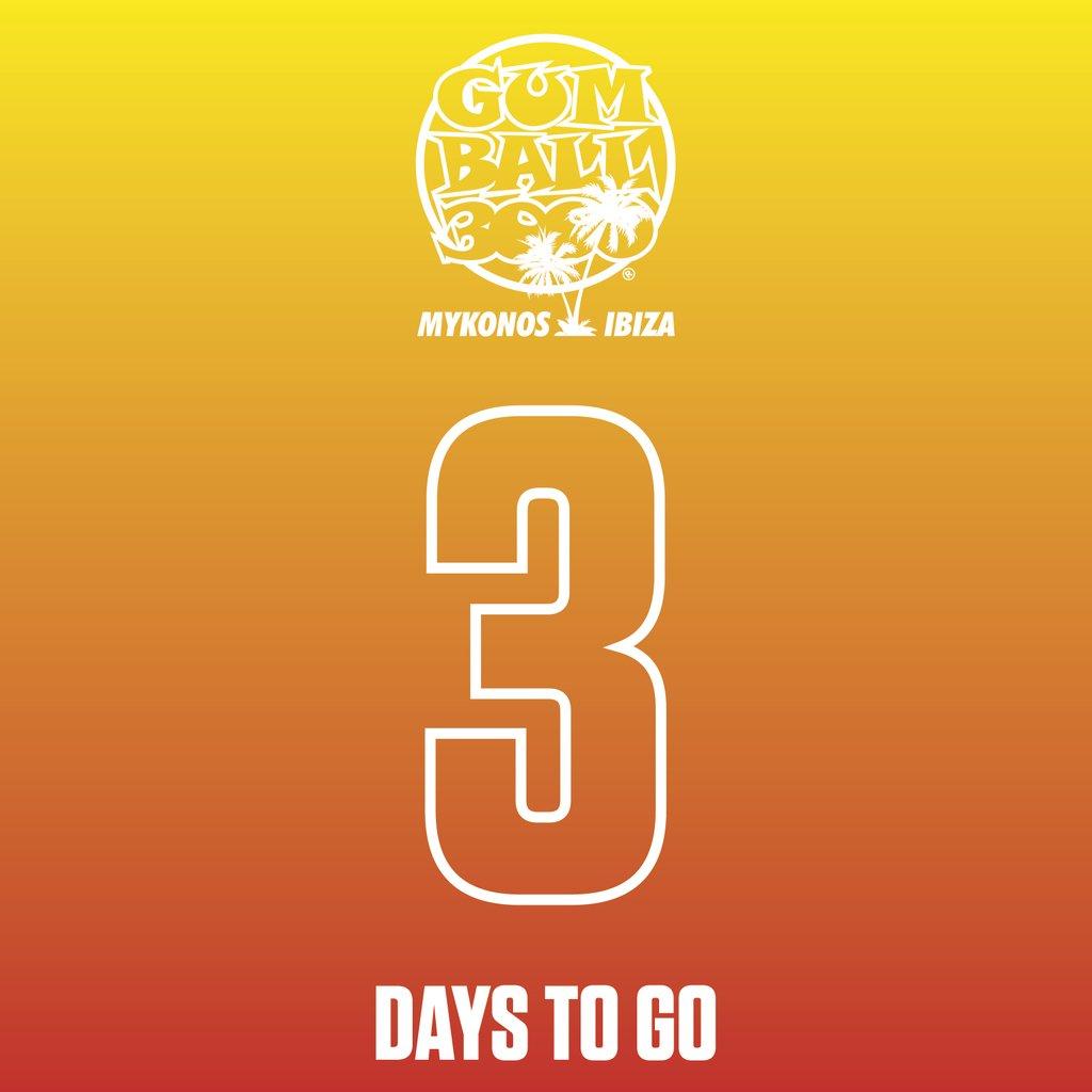 3 DAYS TO GO!!!! #MykonosvIbiza ⠀ #Gumball3000⠀ #GumballLife https://t.co/v2gVtDQsVv