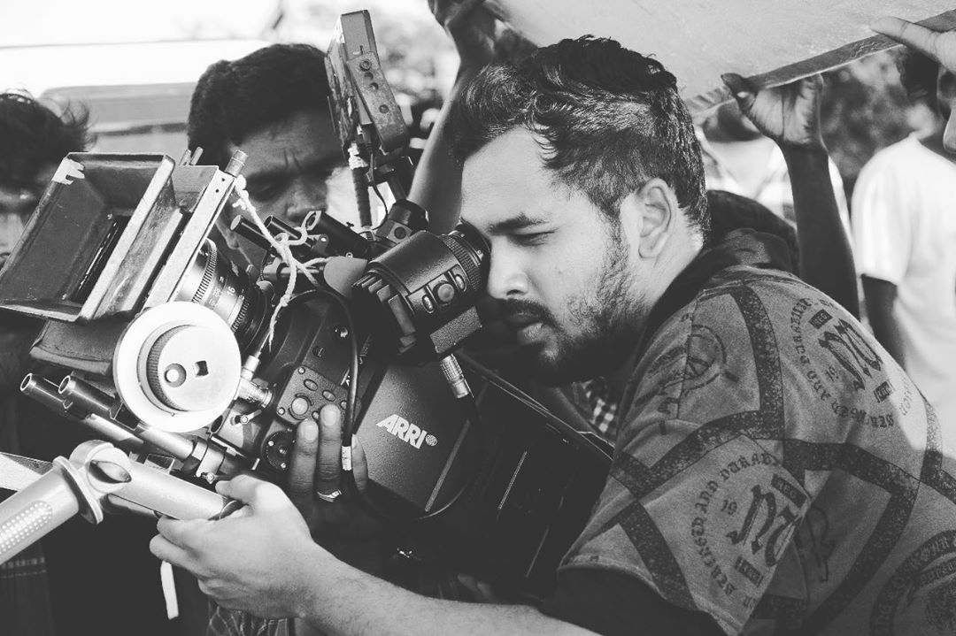 #throwback - #shootdays 😊 - - that koodiya seekiram cinematorgraphyum kathukuvom moment 😁
