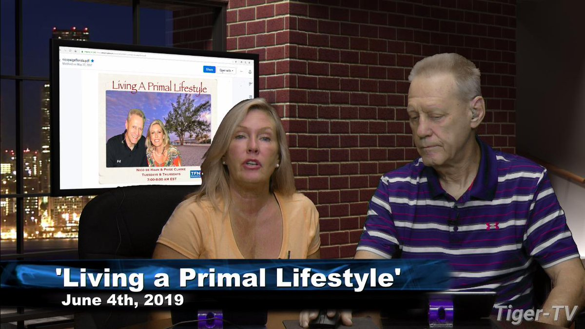 209c6fabbc031 nico and paige host living a primal lifestyle for tuesday on subscribe to  and buy your