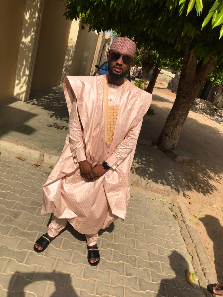 Because we no dey post no be say we no dey ball #EidMubarak from me to you and yours #EidMetGala <br>http://pic.twitter.com/qJBbO1Ok0B