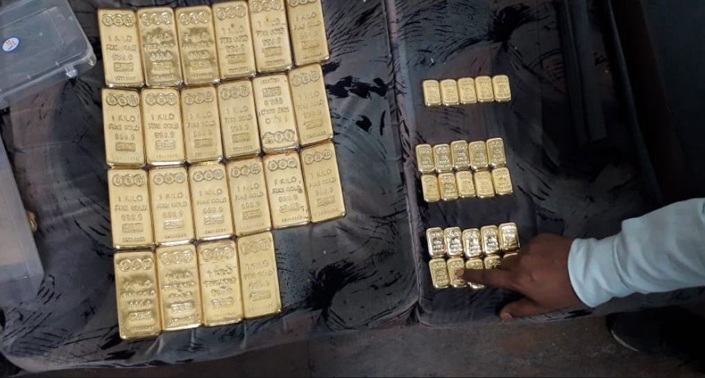 24.5 kg gold worth Rs. 8.20 crore seized at SVPI airport in Ahmedabad, two held