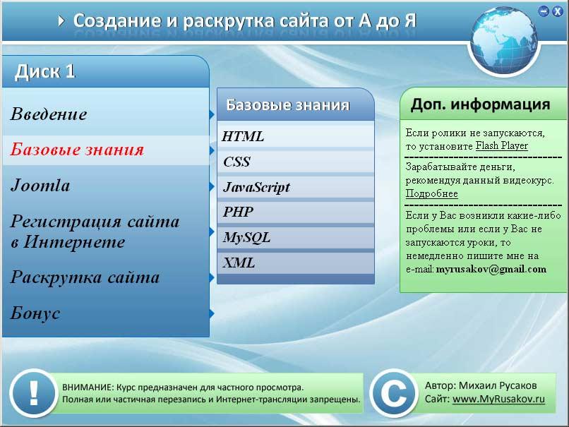 Создание и раскрутка сайта торрент c начать создание сайта