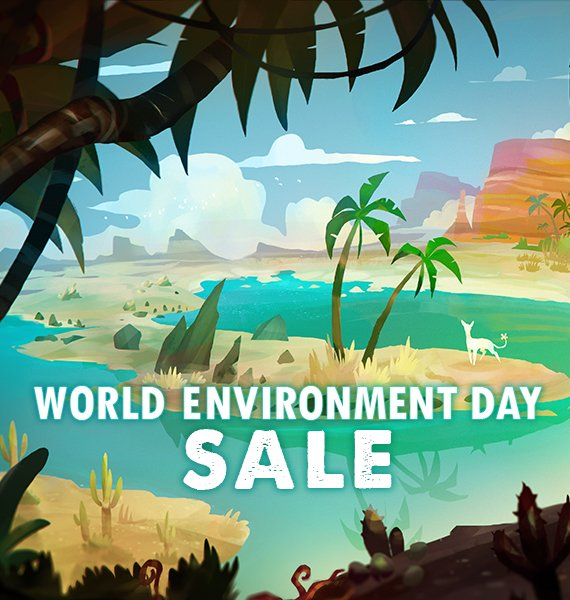 🔹 MIDWEEK MADNESS🔹 Save on nature-themed games during the World Environment Day Sale!  🔍 Learn more: https://store.steampowered.com/sale/worldenvironmentday…  #SteamDeals