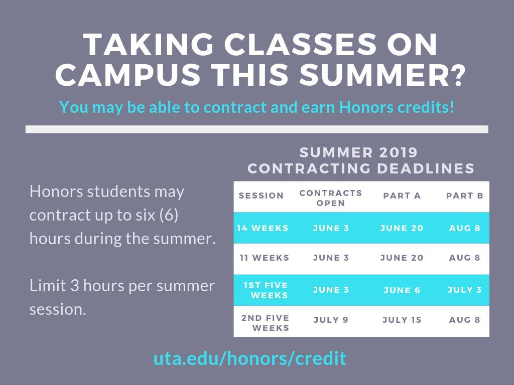 UTA Honors College (@HonorsUTA)   Twitter