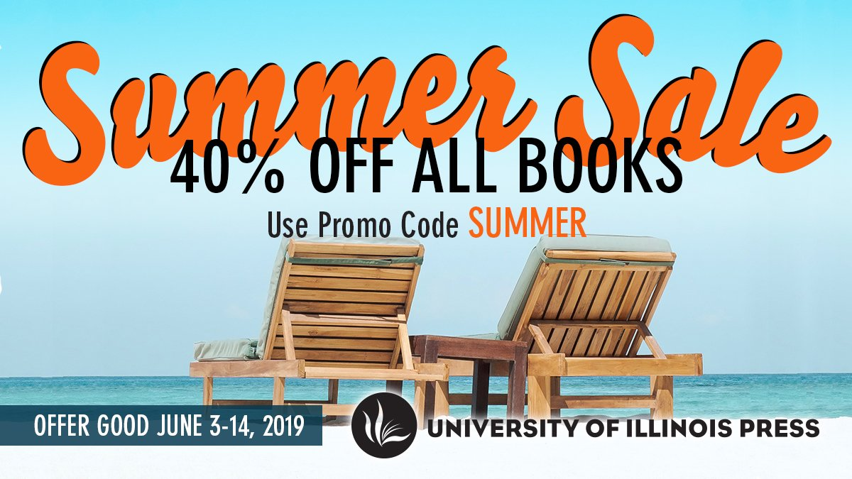 It's time for summer reading! 📚📚📚📚 June 3-14 use Promo Code SUMMER to get 40% off all books! Stock up here: http://bit.ly/2JyfsCQ  Including books by: @Dr_JessieW @ProfPeterCole @andrewcbillings @TobiasHigbie @CaelKeegan @irpinaingiro @TravisjJennifer