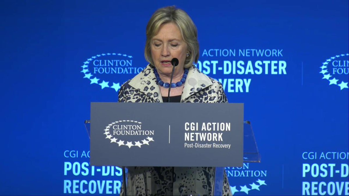 On #WorldEnvironmentDay, I'm feeling inspired by the work to build climate resilience that USVI, PR, and Caribbean communities shared at the @ClintonGlobal Action Network Meeting. This fight has many fronts, and people are coming together to take them on.