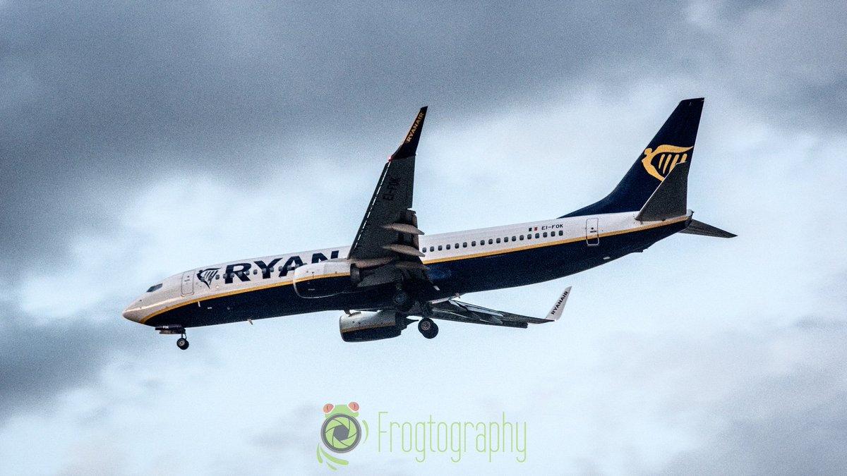 Aterrizando en #Madrid #Barajas