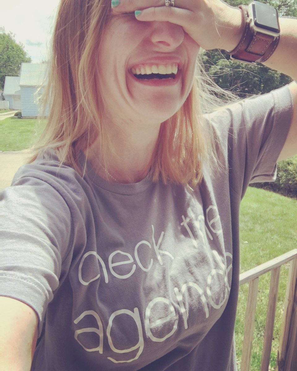 When it's summer break and you realize you have to tell yourself to check the Agenda and after asking your tiny human overlord if he's posted it yet  Thanks so much @mariah_d13 for this awesome t-shirt ! #teachersinsummer <br>http://pic.twitter.com/xWPBabNQxi