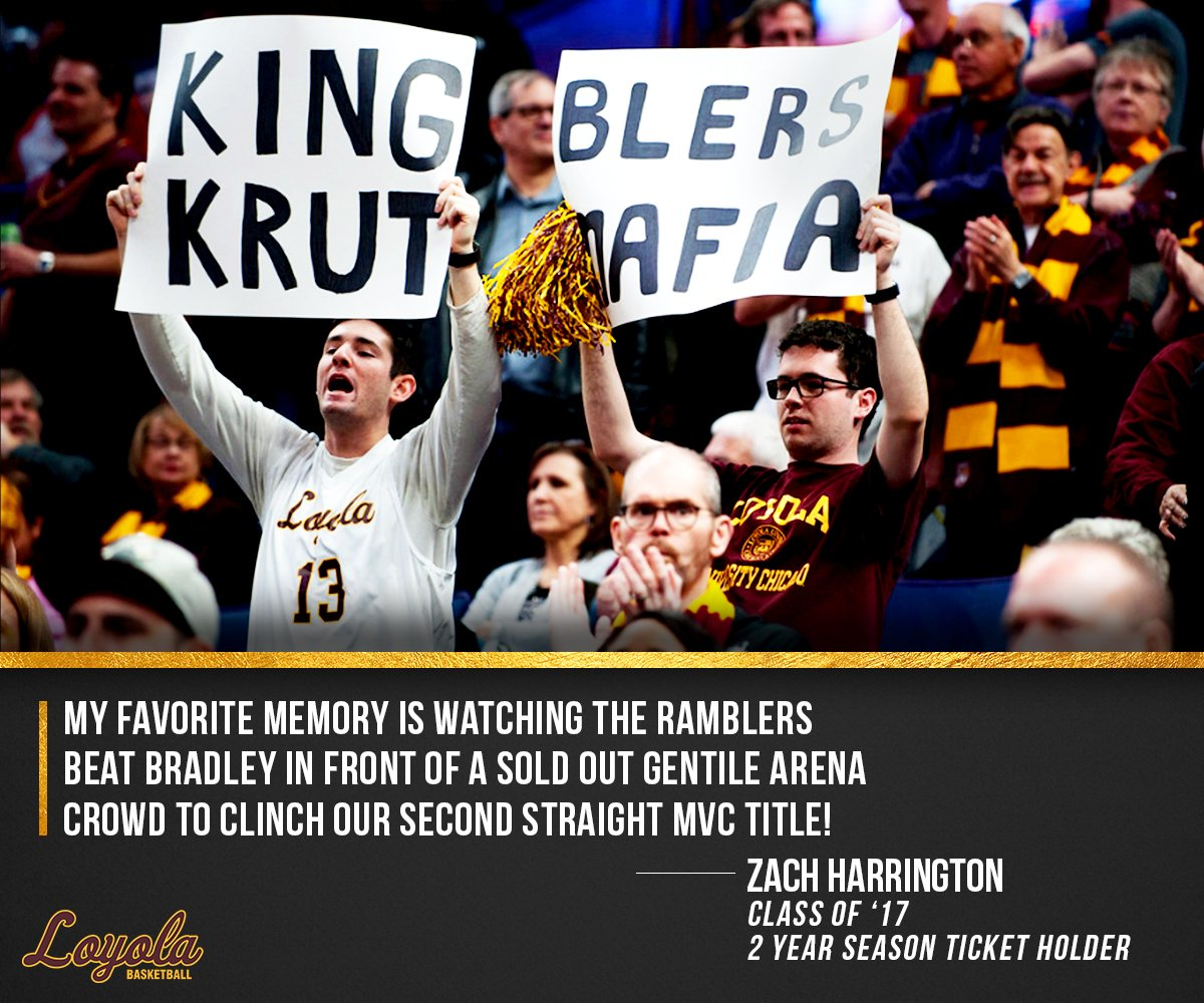 📢Young Alumni!📢 Use the GOLD discount to grab season tickets for as little as $5.25 per game! Place a deposit now to join Zach and the other 159 GOLD alumni season ticket holders at Gentile this fall!   https://bit.ly/2K2qocJ   #OnwardLU