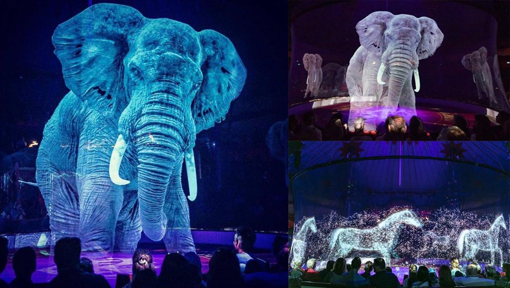 A German circus is using Holograms instead of live animals for a cruelty-free magical experience. And it's cool