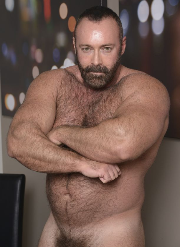 Mature hairy muscle daddy sex adult