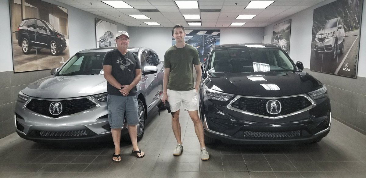 From all of us at Silverhill were sending out Twice the congratulations to the Greens, Father and Son with their very own Acura RDX! Which one do you like better, Dads Silver or his Sons Black? #yyc #silverhillacura #acura #fatherandson #rdx #silver #black #luxurycars