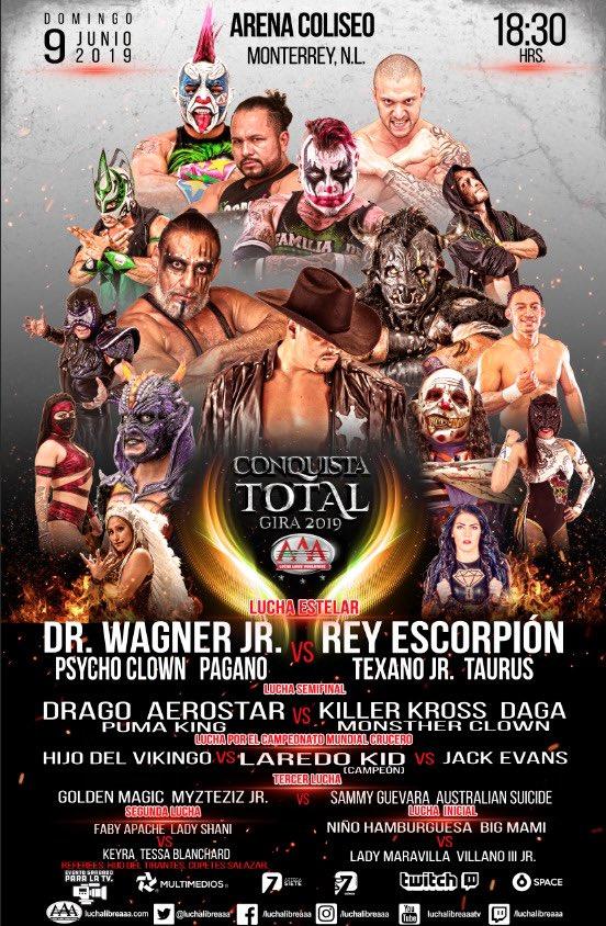 """AAA: Monterrey es la siguiente escala de """"Conquista Total"""" 2"""