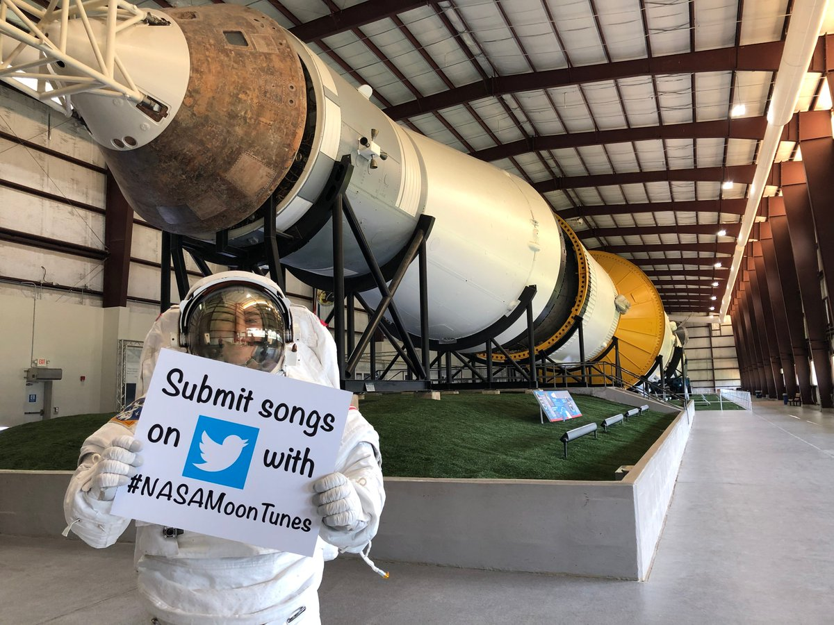 """Wow, there are a lot of @BTS_twt & RM fans! Thanks for the submissions – we'll add """"Moonchild,"""" """"Mikrokosmos"""" & """"134340"""" to the playlist! What other songs can we include on #NASAMoonTunes? http://nasa.gov/moontunes"""