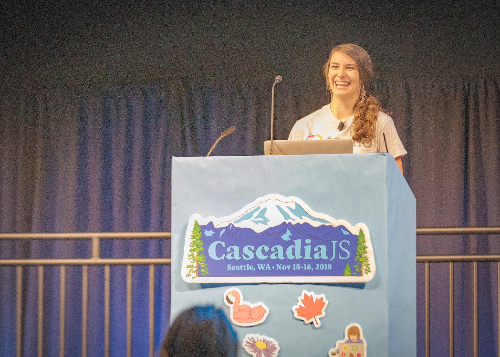 CascadiaJS 2018 speaker