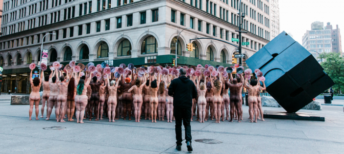 test Twitter Media - Did you see this! Famous artist @SpencerTunick, in collaboration with @ncacensorship, brought 125 #clothes-free people in front of Facebook and Instagram's New York City headquarters at Astor Place to challenge social media #censorship...https://t.co/c8dlvbhnJA #WeTheNipple #nude https://t.co/XUkHdKRBXr