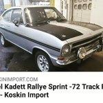 Image for the Tweet beginning: Opel on pop! This Opel Kadett