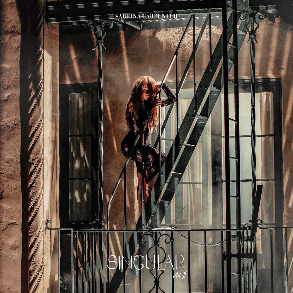 """""""Singular Act II"""": Sabrina Carpenter divulga capa e data de lançamento da segunda parte do álbum"""
