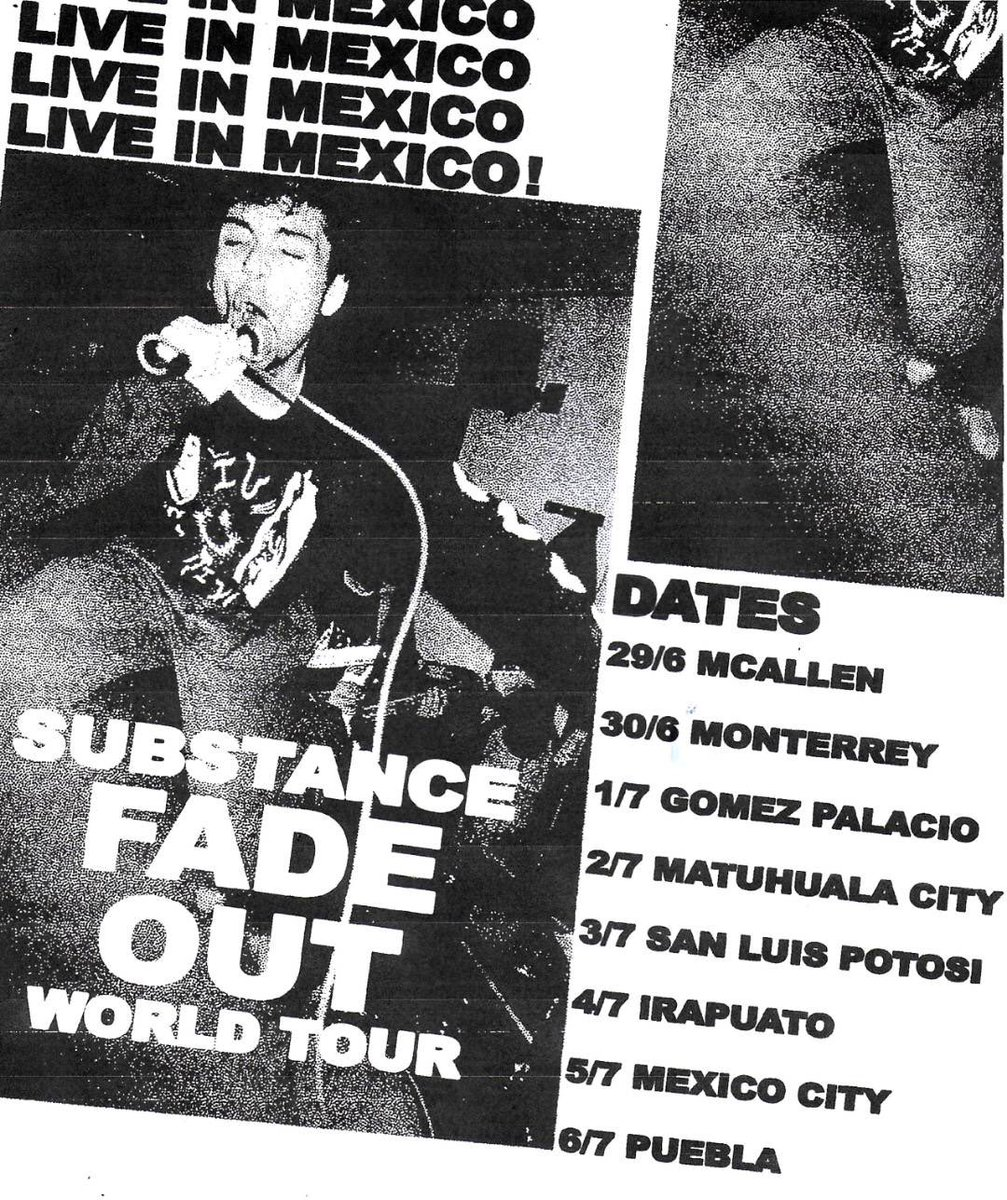 We're touring Mexico at the end of the month. Yeet. 🇲🇽