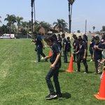Image for the Tweet beginning: Loara 6th graders enjoy field