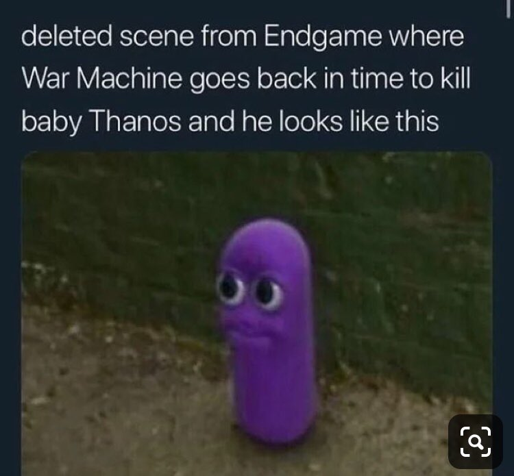 I have to say, they should've went with @DonCheadle 's plan and  Endgame would've been over in half the time #endgamememes #endgamespoiler   (ps I'm not taking meme credit so don't hate me pls)