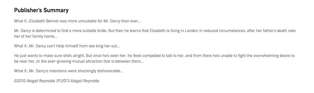 Elizabeth And Mr Darcy Fanfiction Rated M