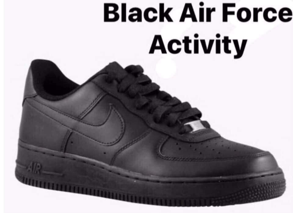 Black Air Force 1 Activity 9ba984404 Caforexam Com