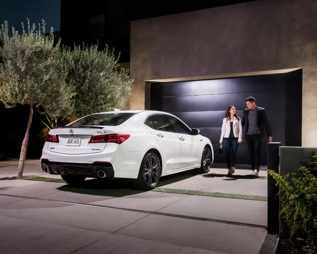 Don't forget to compliment your #TLX A-Spec on its good looks.