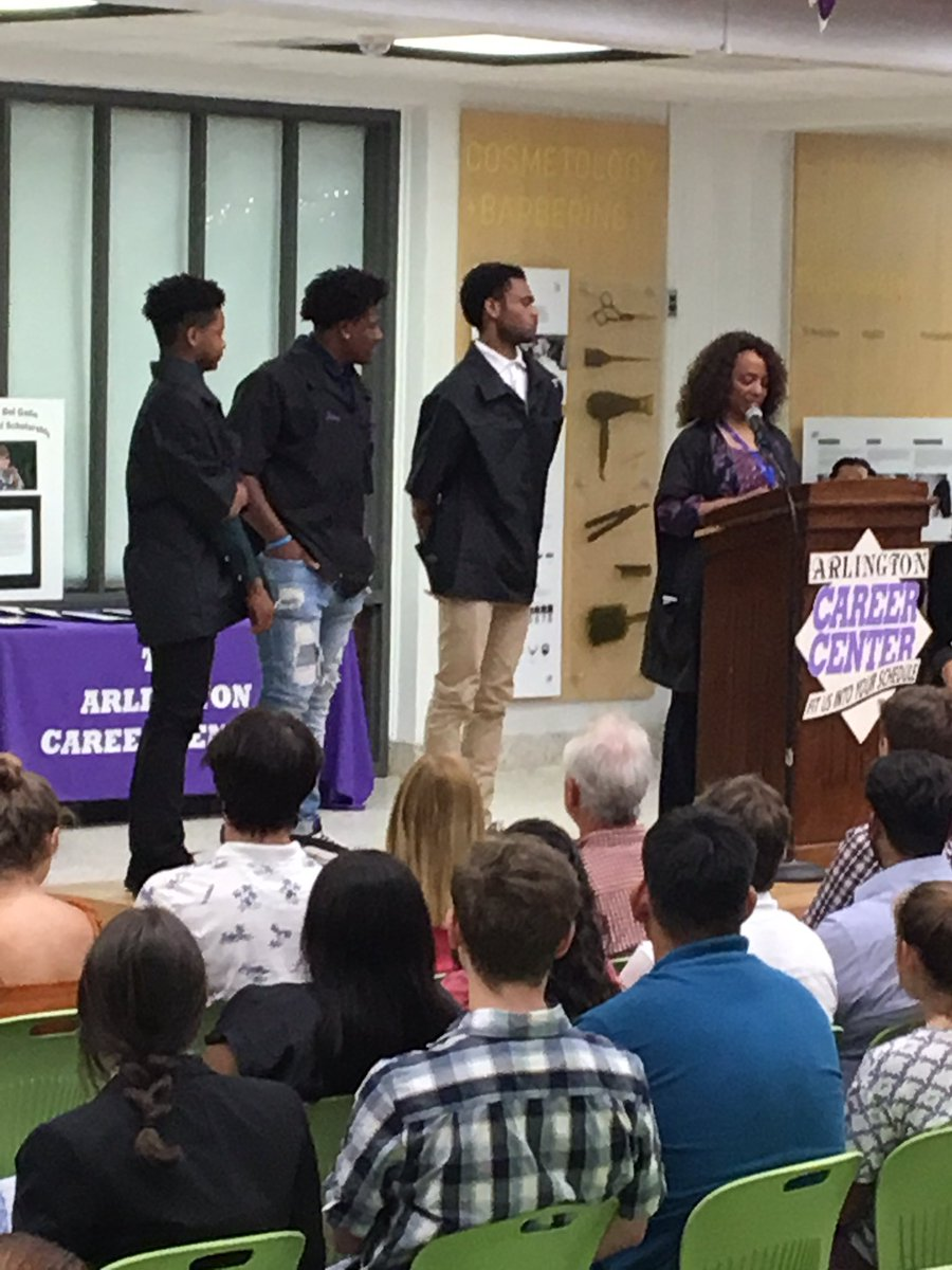 Career Center Awards Ceremony <a target='_blank' href='http://twitter.com/APSCareerCenter'>@APSCareerCenter</a> Student graduating with industry credentials and college credit. <a target='_blank' href='http://twitter.com/APS_CTAE'>@APS_CTAE</a> <a target='_blank' href='https://t.co/vGABHCrDXQ'>https://t.co/vGABHCrDXQ</a>