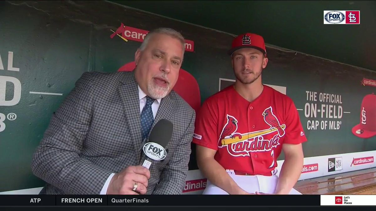 "Andrew Knizner on getting the call-up and making his MLB debut: ""It was an unbelievable experience."" #TimeToFly"