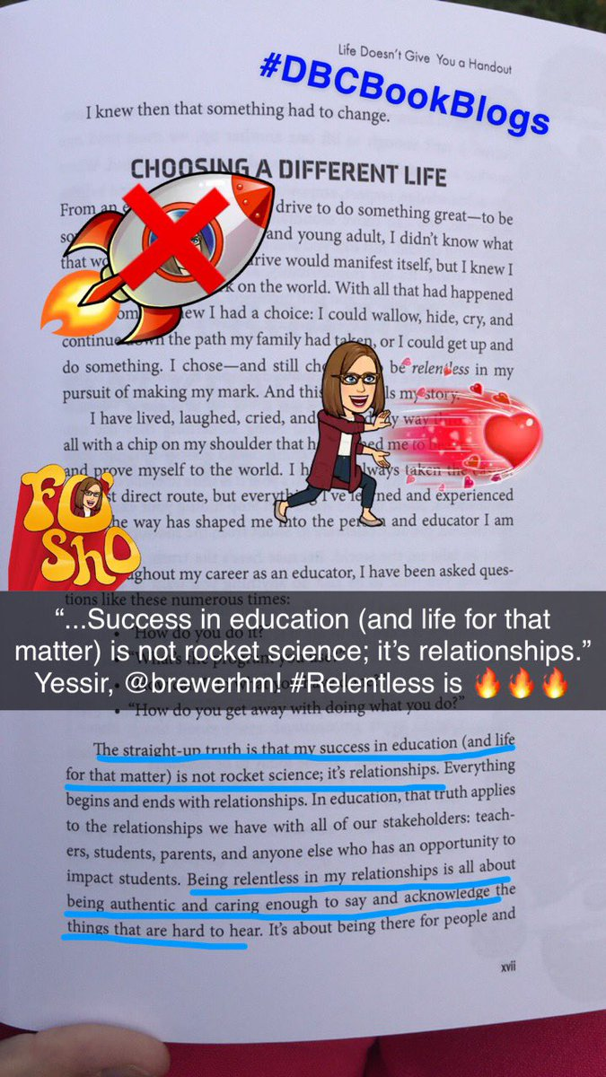 .@brewerhm already speaking truth! YES! #Relentless #DBCBookBlogs #BookSnaps