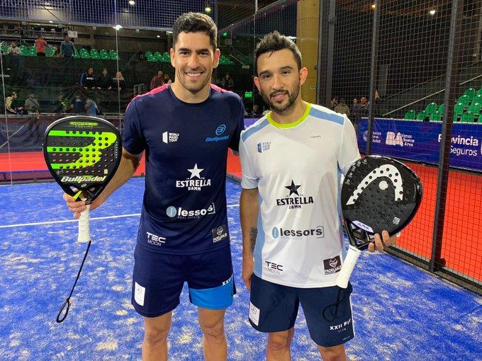Maxi Sánchez y Sanyo Gutiérrez vencieron en su debut en los dieciseisavos del Buenos Aires Padel Master