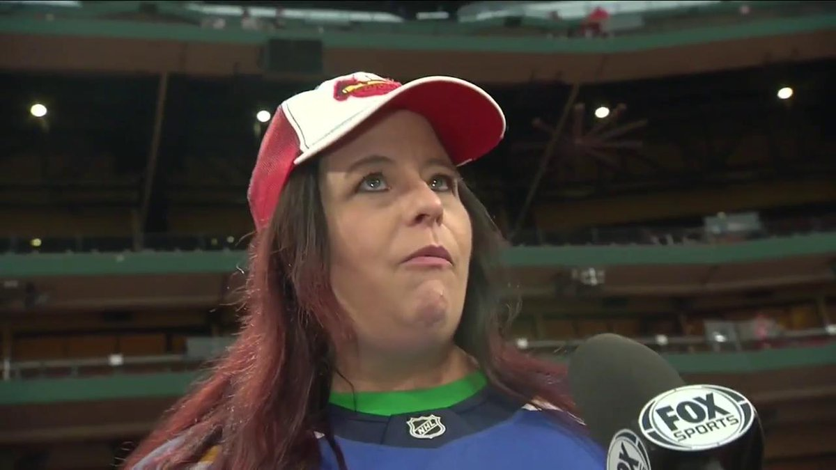 Laura Branigans manager, Kathy Golik, on hearing Gloria after @StLouisBlues win: I looked up and said, Thats for you, Laura, with tears in my eyes. #stlblues | #StanleyCup | #TimeToFly