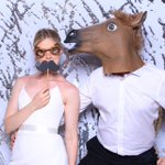 This is how we rock and roll at #weddings #weddingseason2019 #photobooth