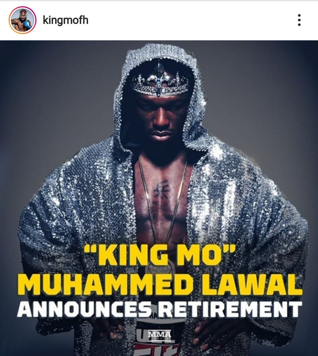 Congrats 2 an OG @KingMoFH. From the mat 2 the cage he did it his way n left a great legacy as an athlete. The first of the new gen of @USAWrestling guys 2 crossover. Always willing 2 help whether I was a young pup in wrestling or lookin to transition to MMA. Will be a fan 4 life