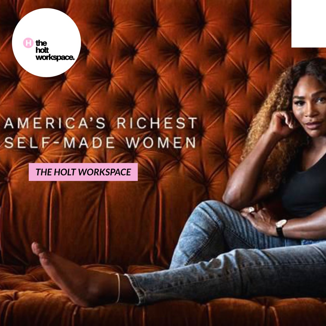 Aint nothing to a real one, aint nothing to a BOSS 🙌🏾✨💰Self - Made  @serenawilliams #SerenaWilliams #theholtworkspace #bossbabe #girlboss #girlceo #womenathletes