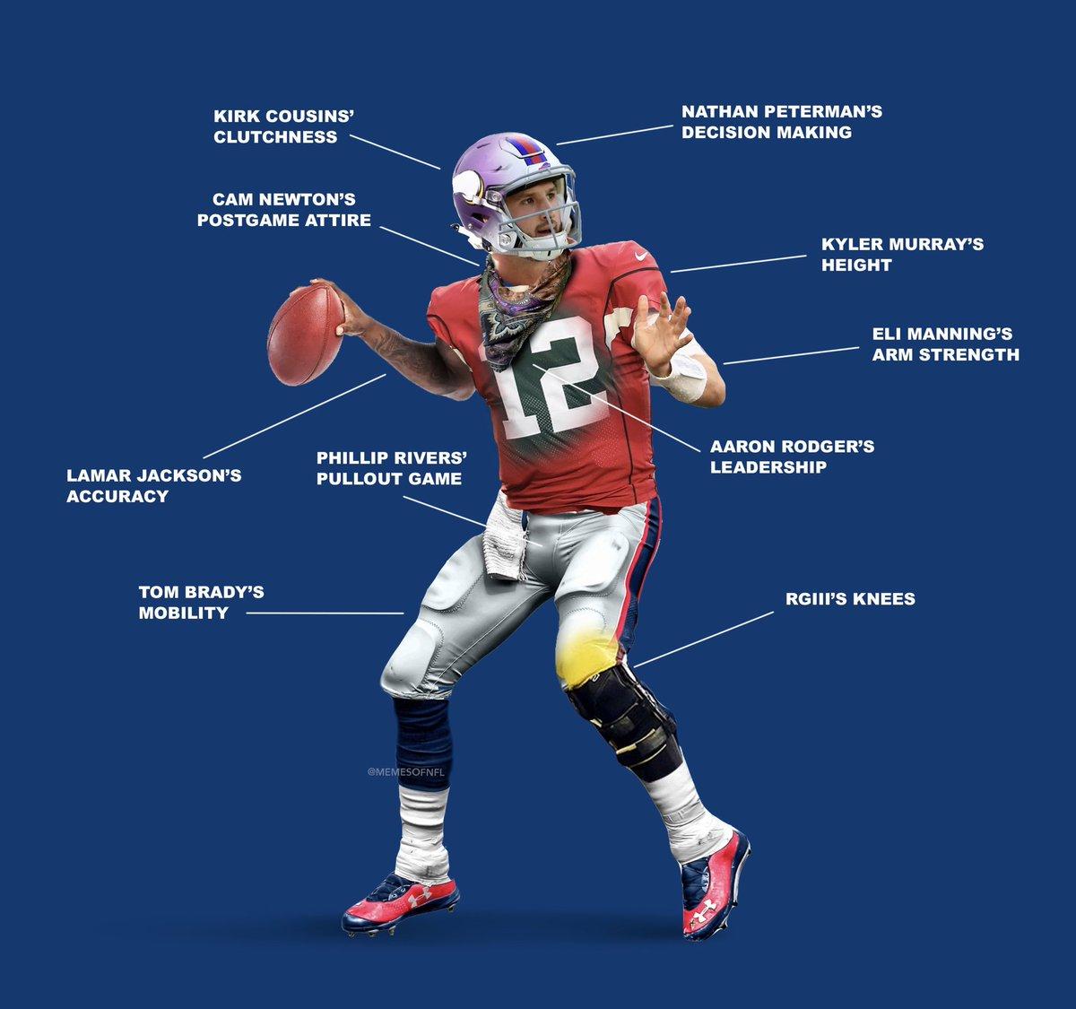 Building the worst possible NFL quarterback 😂