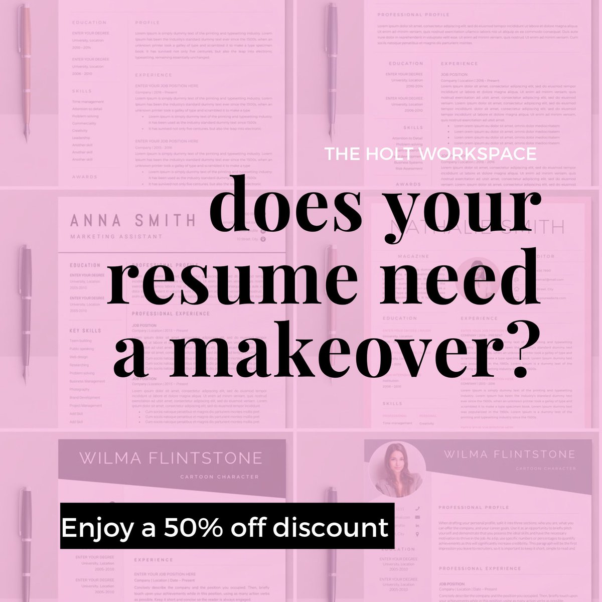 Could your resume and cover letter use a makeover? We got you! DM for a *FREE* consult today! http://bit.ly/2EvQgbI   Also, enjoy a 50% off discount!   #careeradvice #professionalwomen #resumewriter #coverletterwriter #careeropportunities #jobhelp #business #corporatelife #jobs