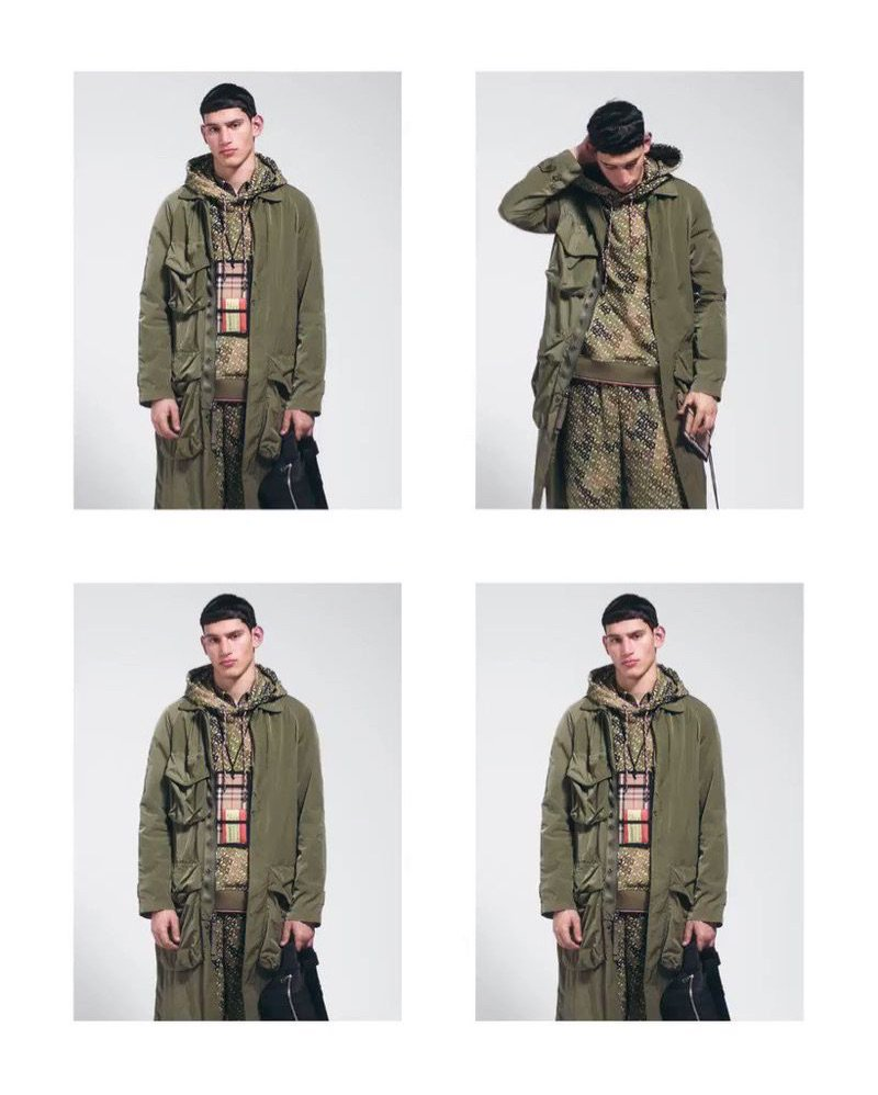0a31a7753e76 burberry serves up minimal pre fall 19 campaign with must have looks  burberry