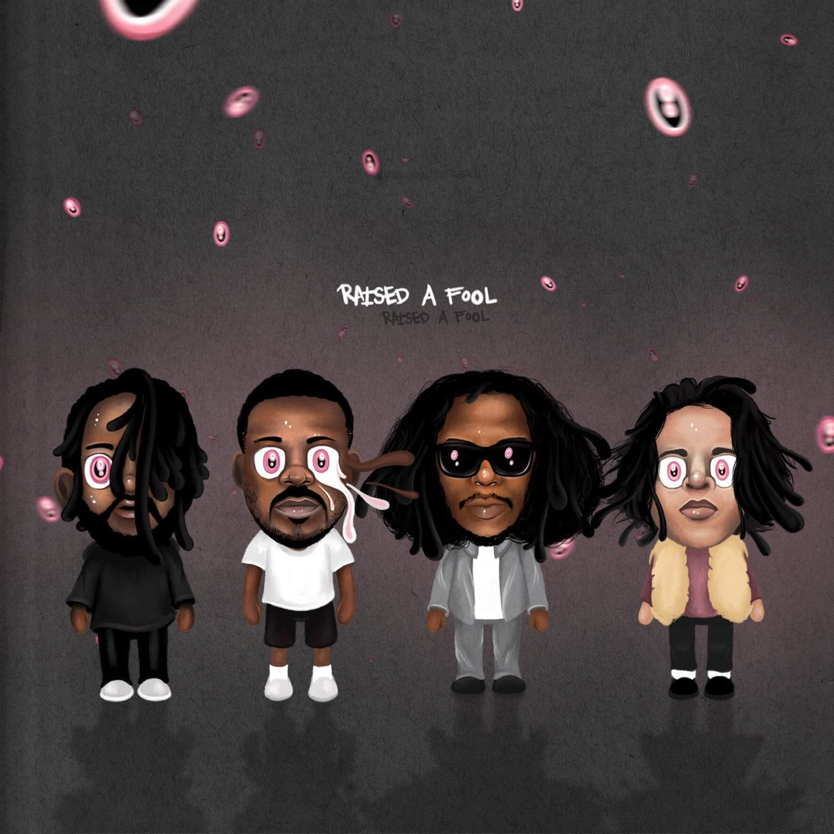"""""""RAISED A FOOL"""" FT AB-SOUL, JAY ROCK & ZACARI NOW AVAILABLE ON ALL STREAMING PLATFORMS.   https://empire.lnk.to/Raised"""