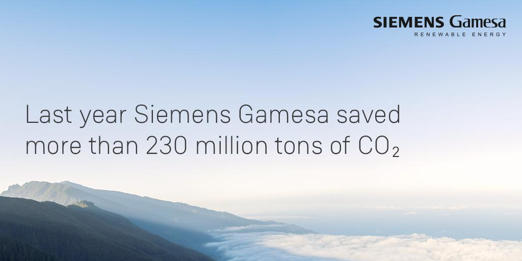 The #WorldEnvironmentalDay is essential to raise global awareness of the need to take positive environmental action. At Siemens Gamesa we are pleased to take part in the celebration guaranteeing a cleaner and brighter future by reducing CO2 emissions into the atmosphere ♻