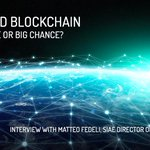 Image for the Tweet beginning: Is blockchain a big opportunity
