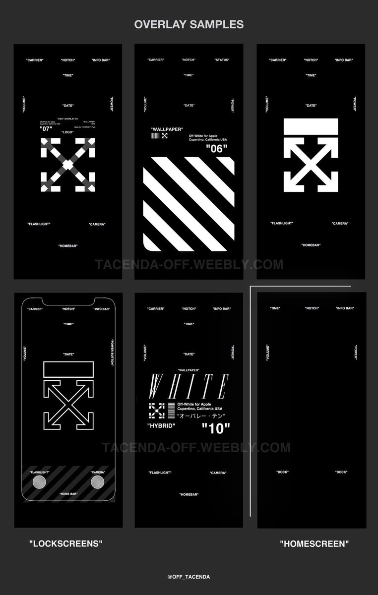 Tacenda On Twitter Off White Wallpaper Commissions Now