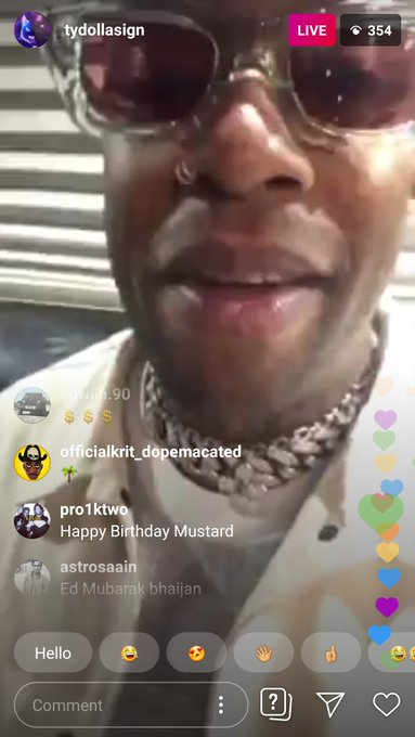 on insta   Happy Birthday DJ Mustard