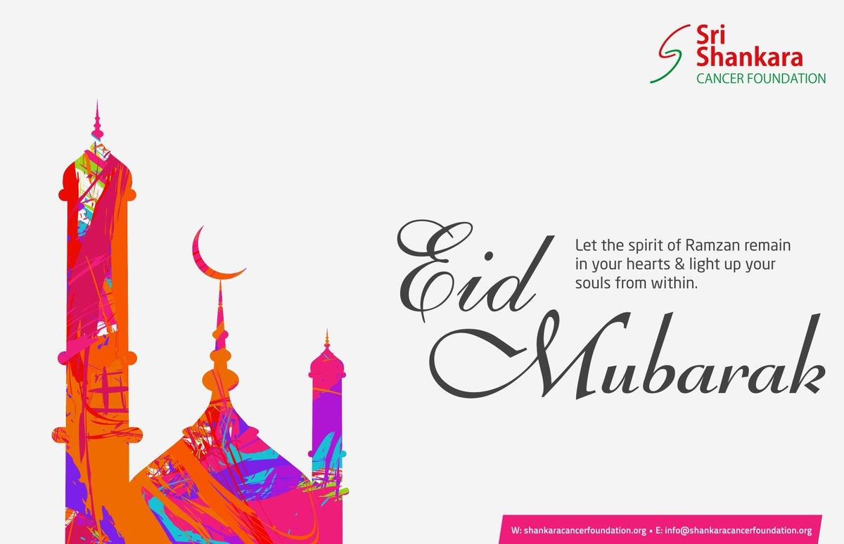 May this Ramzan spread joy and peace in all our hearts! #ramzan #ramadan #eid #mubarak #srishankaracancerfoundation