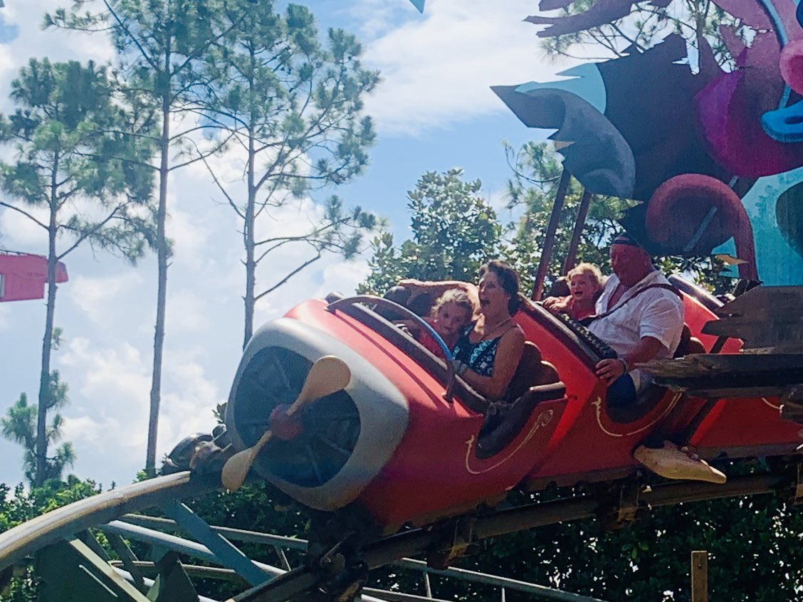 So here's the proof that I went on a ride @RealRomfordPele 😂😂 #Disney